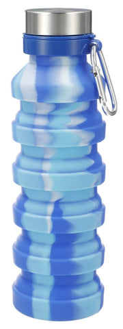 Zigoo Silicone Collapsible Bottle Tie Dye - 18 oz.