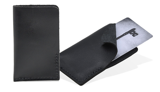 Simply Leather Business Card Sleeve