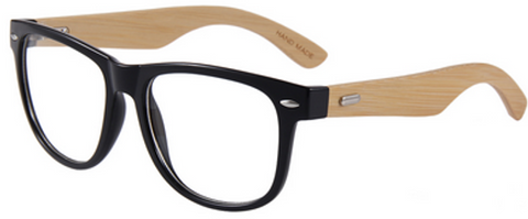 Computer Glasses w/Bamboo Temples