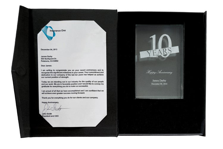 Crystal Award Gift Box