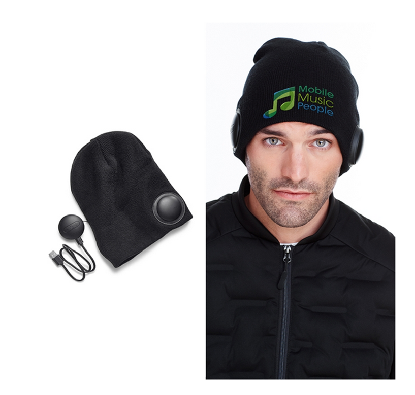 Knit Wireless Headphones Beanie