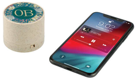 Frenzy Wheat Straw Bluetooth Speaker
