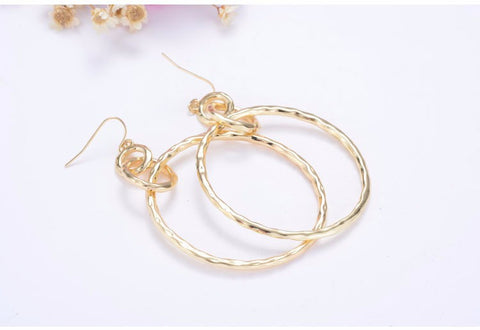 Classic Drop Statement Earrings