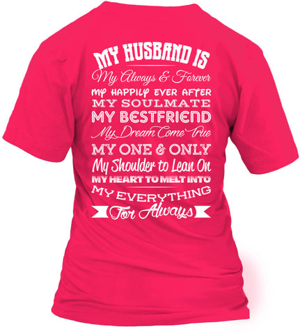 My Husband Is My Always And Forever