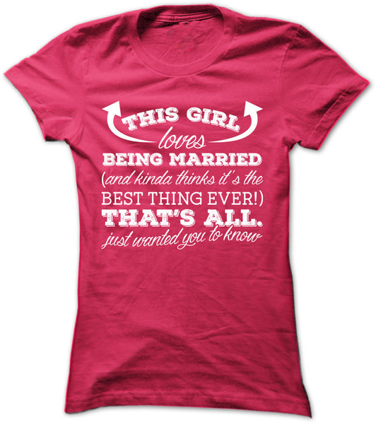 This Girl Loves Being Married