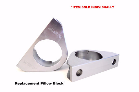 ASR 32mm Hollow Bar Pillow Block