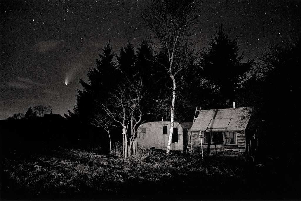 Comet Hale Bopp, Spencer, MA, 9:35pm, April 30, 1997