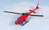 Bell 206 JetRanger (Red) Helicopter