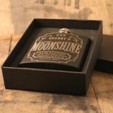 Moonshine Vintage Hip Flask - Personalised