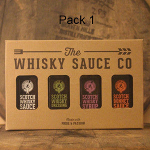 Whisky sauce collection. pack 1