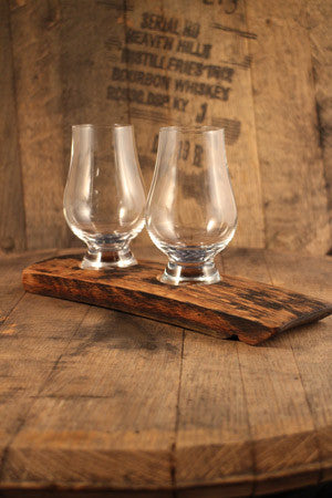 Barrel Stave 2 Glencairn Crystal glass flight