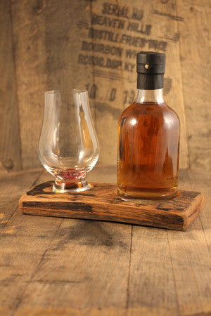 Barrel Stave 1 Glencairn Crystal glass and 20cl whisky flight