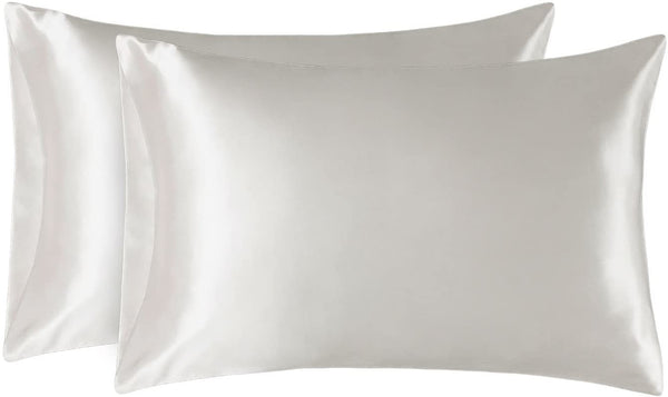 2 Silky Satin Pillowcases - Standard Size - ZOË AYLA