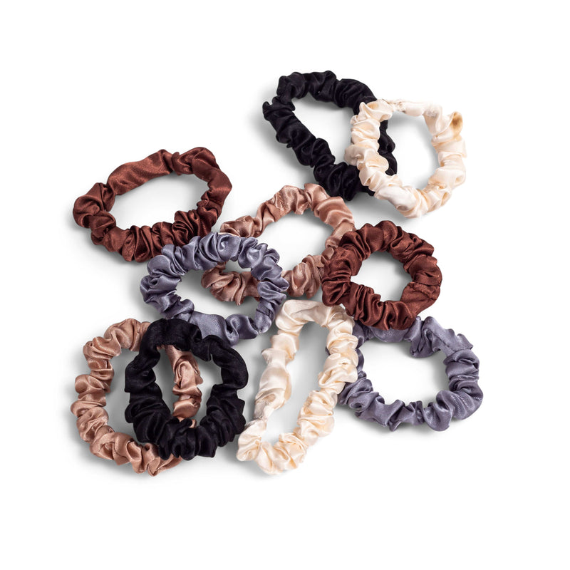 10-Pack Small Scrunchies - ZOË AYLA