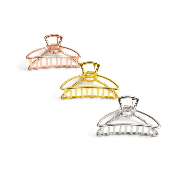 3-Pack Metal Claw Clip - ZOË AYLA