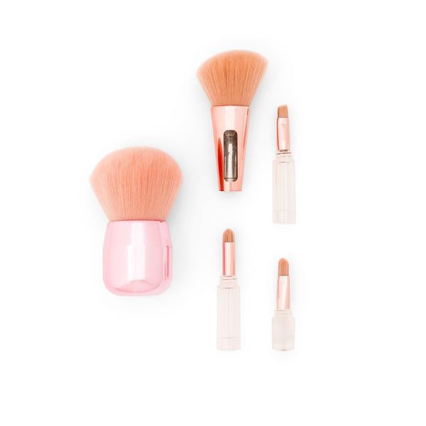 Compact Makeup Brush Set-zoeayla.
