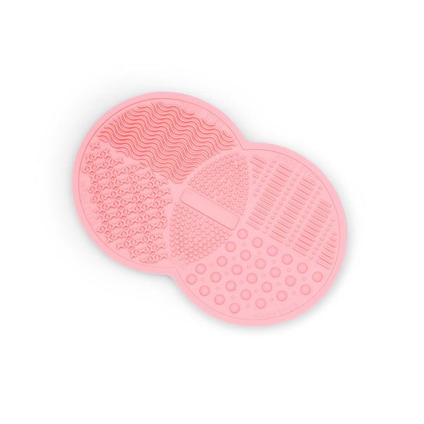 Pink Silicone Make-Up Brush Cleansing Rubber Pad - ZOË AYLA