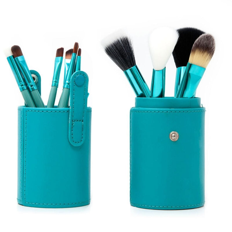 Beauty Product - Zoë Ayla Luxurious Professional 12 Piece Make-Up Brush Set In Turquoise