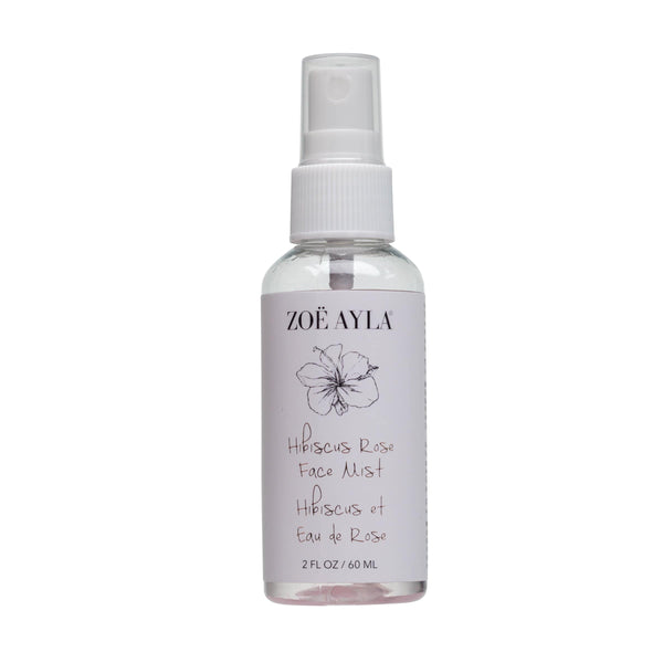 Hibiscus Rose Face Mist (2 FL OZ / 60 ML) - ZOË AYLA