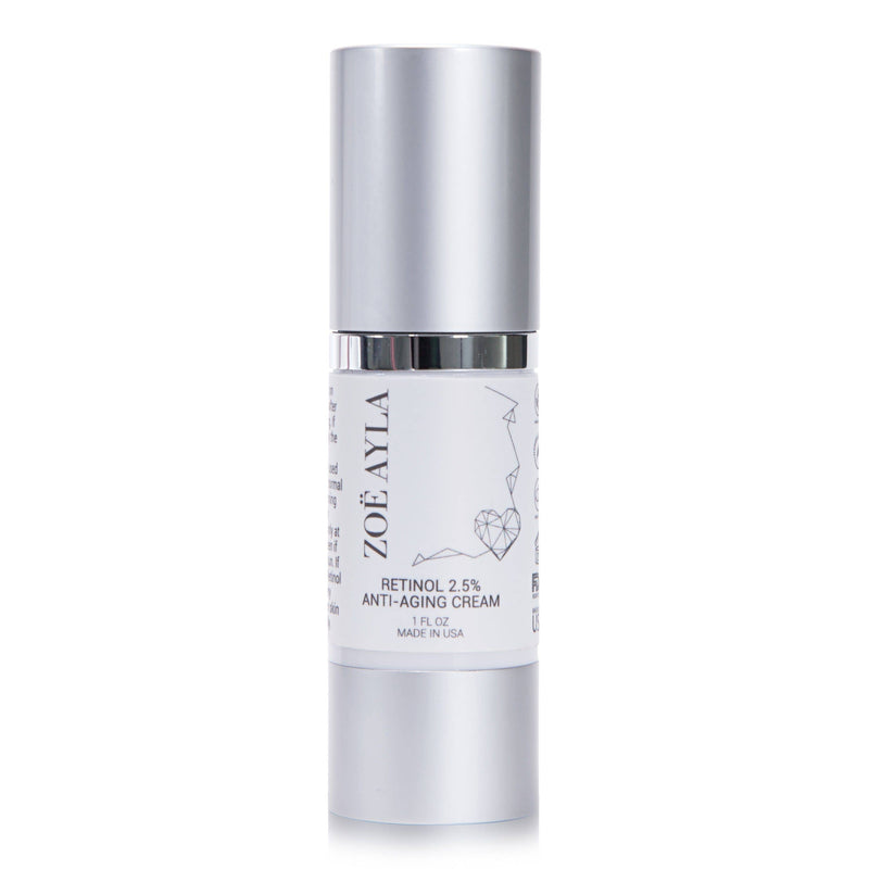 NEW - Brilliant Anti-Aging Retinol Cream - Contains 2.5% Active Retinol