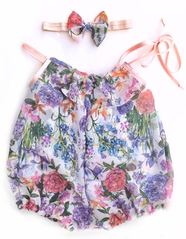 Summer Romper Set (choose your fabric)