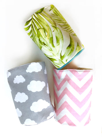 Fabric Storage Pots