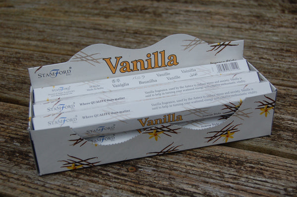 Vanilla Incense Sticks - Peace, Love & Hippie Vibes - 2