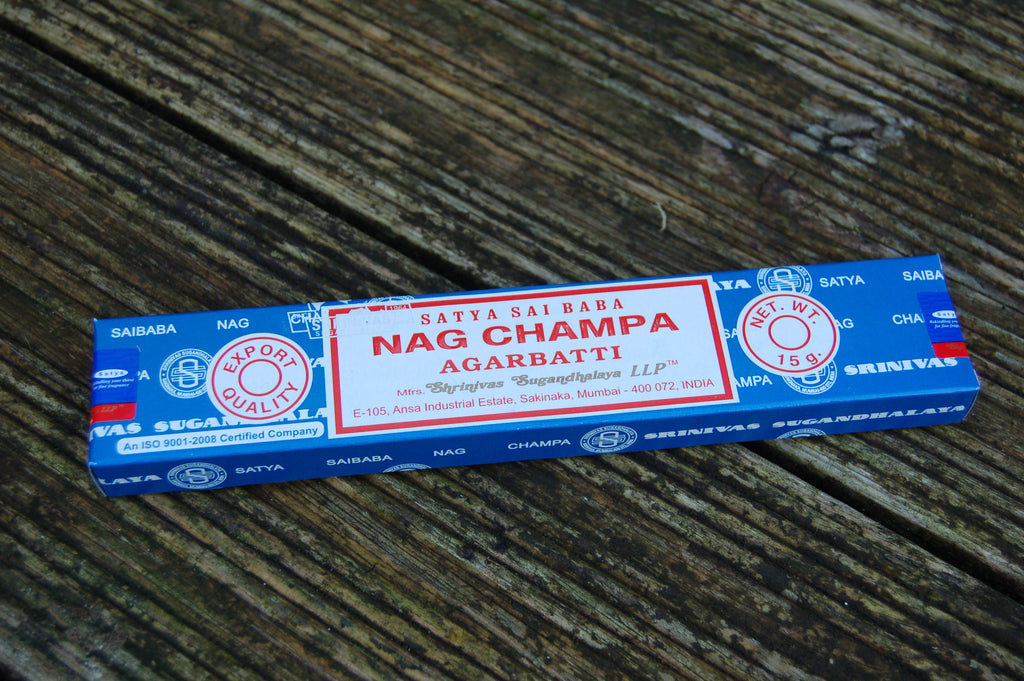 Nag Champa Incense Sticks - Peace, Love & Hippie Vibes