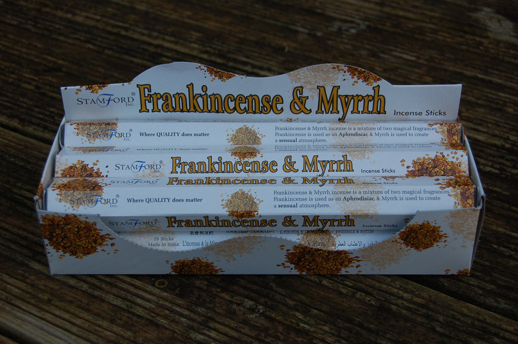 Frankincense & Myrrh Incense Sticks - Harmony Wild - 1