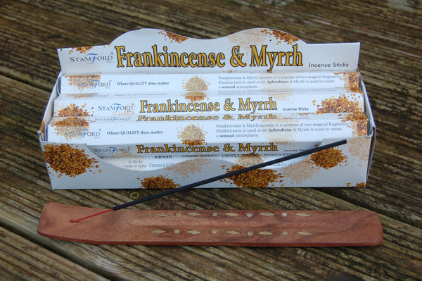 Frankincense & Myrrh Incense Sticks - Harmony Wild - 2