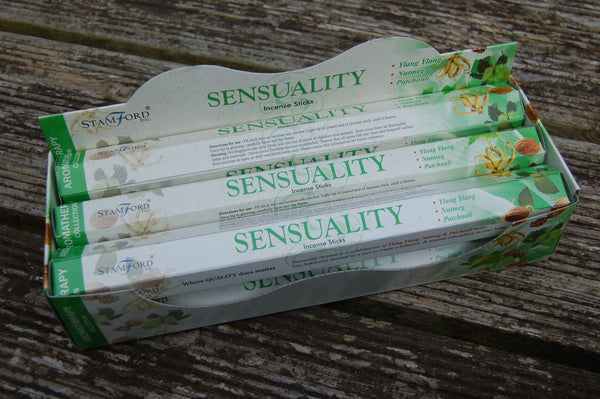 Sensuality Incense Sticks - Peace, Love & Hippie Vibes - 2