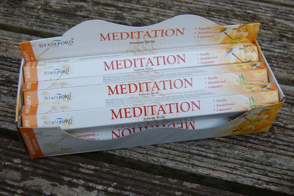 Meditation Incense Sticks - Peace, Love & Hippie Vibes - 2