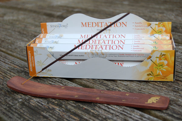 Meditation Incense Sticks - Peace, Love & Hippie Vibes - 1