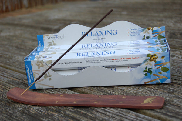 Relaxing Incense Sticks - Peace, Love & Hippie Vibes - 1