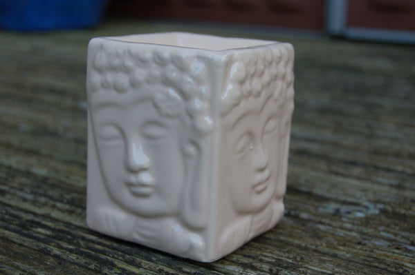 Square Buddha Oil Burner - Peace, Love & Hippie Vibes - 2