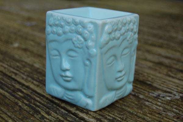 Square Buddha Oil Burner - Peace, Love & Hippie Vibes - 5
