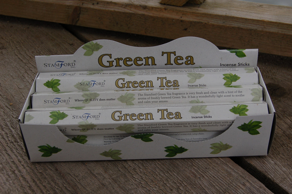 Green Tea Incense Sticks - Harmony Wild