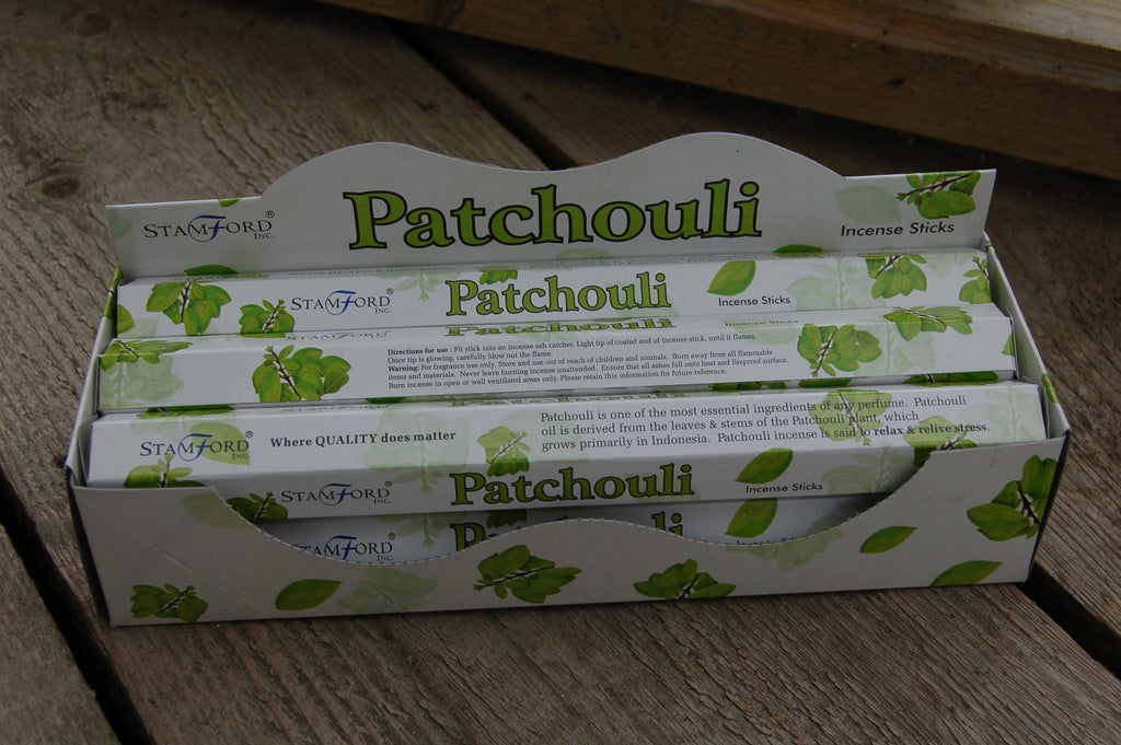 Patchouli Incense Sticks - Harmony Wild