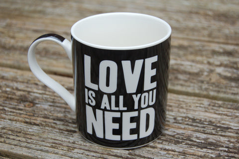 Love Is All You Need Mug - Peace, Love & Hippie Vibes