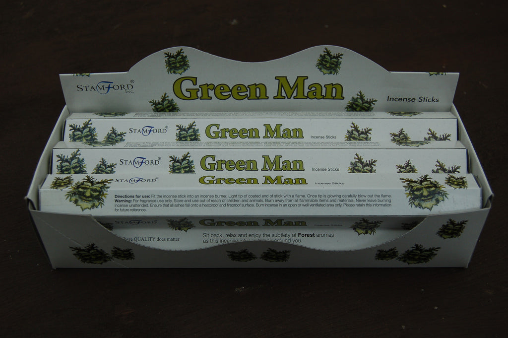 Green Man Incense Sticks - Harmony Wild