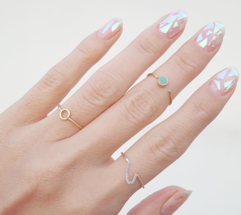Rings and the art of nails!