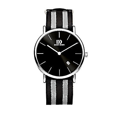 Danish Design Men's Watch IQ13Q1050 Black And Grey from the Watches collection at Argenteus Jewellery