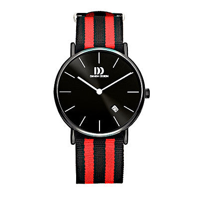 Danish Design Men's Watch IQ16Q1048 Black And Red from the Watches collection at Argenteus Jewellery