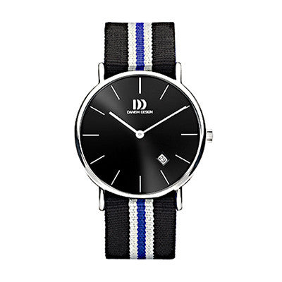 Danish Design Men's Watch IQ21Q1048 Black And Grey from the Watches collection at Argenteus Jewellery
