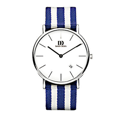 Danish Design Men's Watch IQ22G1048 Blue And White from the Watches collection at Argenteus Jewellery