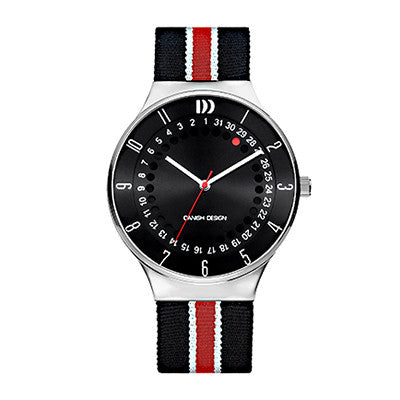 Danish Design Men's Watch IQ33Q1050 Black And Red from the Watches collection at Argenteus Jewellery