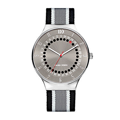 Danish Design Men's Watch IQ34Q1050 Black And Grey from the Watches collection at Argenteus Jewellery