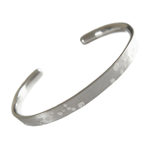 Bubbles torc bangle