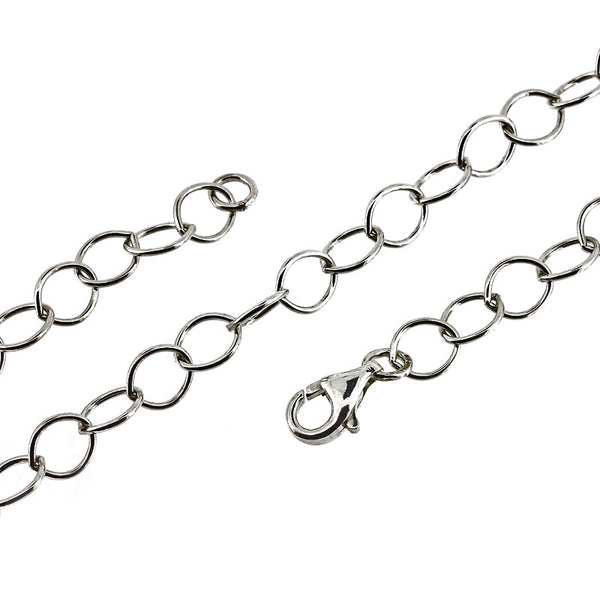 6.3mm Open Trace Link Chain Necklace/Bracelet from the Necklaces collection at Argenteus Jewellery