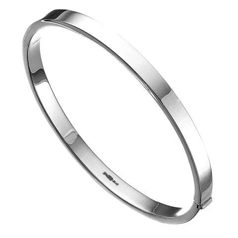 Hinged Flat Bangle from the Bangles collection at Argenteus Jewellery
